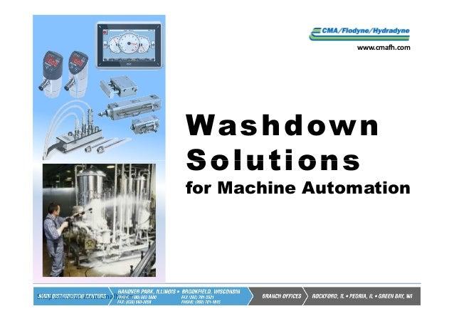 www.cmafh.com                               Wa s h d ow n                               Solutions                         ...