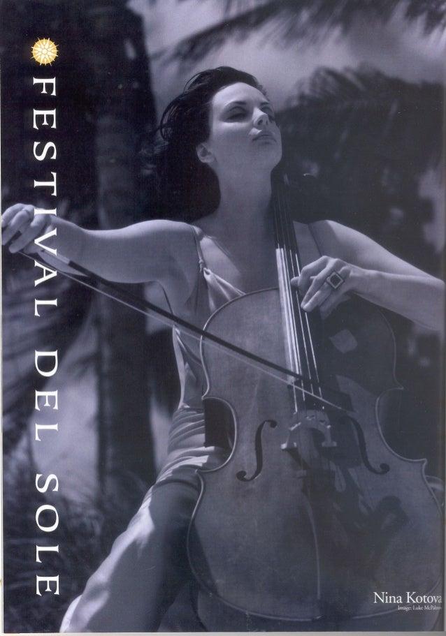 Nina Kotova: C Magazine Festival Del Sole 2007
