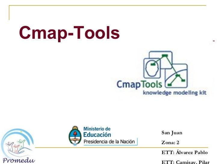 <ul><li>Cmap-Tools </li></ul>San Juan Zona: 2 ETT: Álvarez Pablo ETT: Camisay, Pilar
