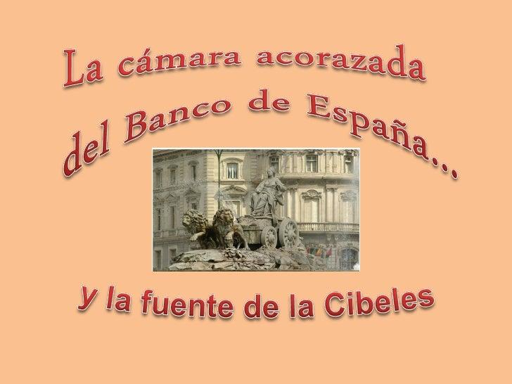 En pleno centro de Madrid, en la calle Alcalá, frente a la Cibeles,encontramos la sede del Banco de España. Y a sus pies, ...