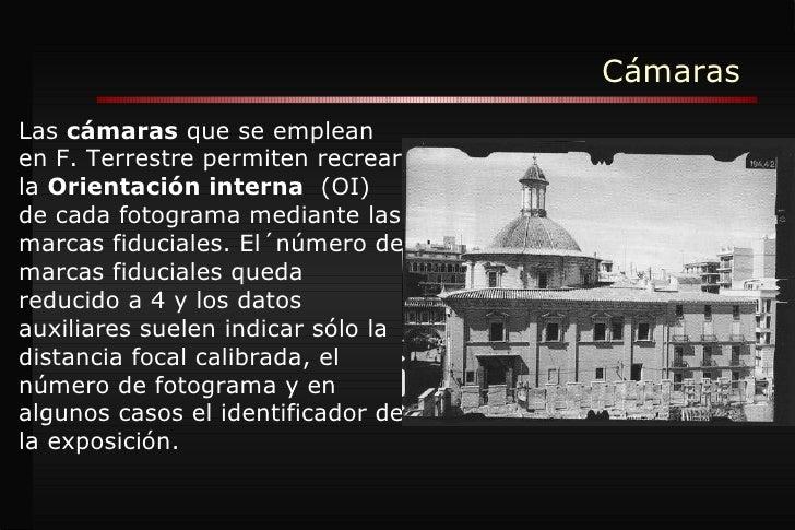 Cámaras Fotogrametr Slide 2