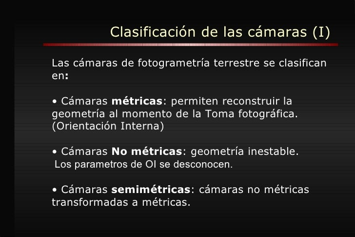Cámaras Fotogrametr Slide 3