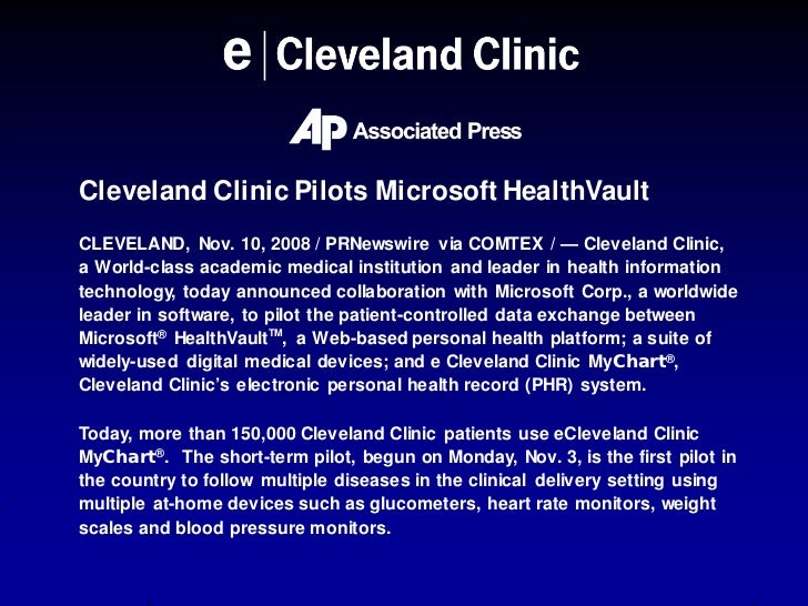 Cleveland Clinic Home Health Devices