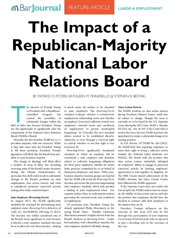 labor relations articles