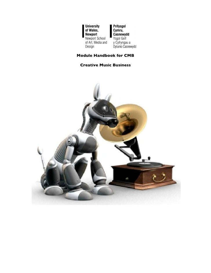 Module Handbook for CMB Creative Music Business
