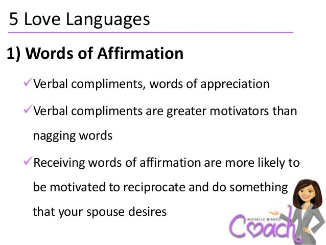 Affirmation language love of words 40+ Words