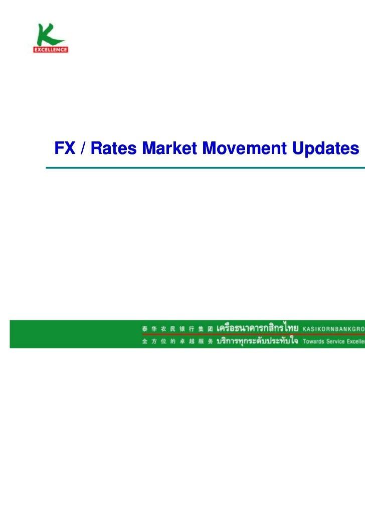 FX / Rates Market Movement Updates                                     December 2011                                      ...