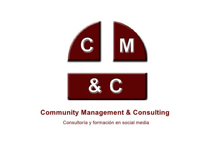 Community Management & Consulting Consultoría y formación en social media
