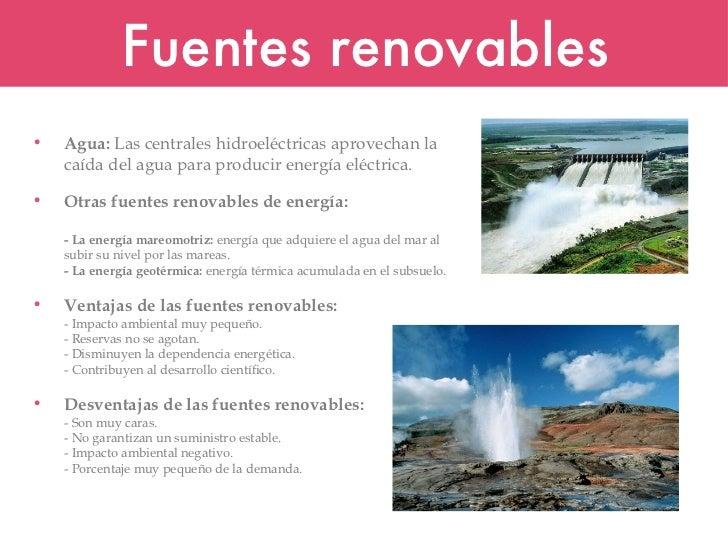Fuentes renovables y energia sostenible Slide 3