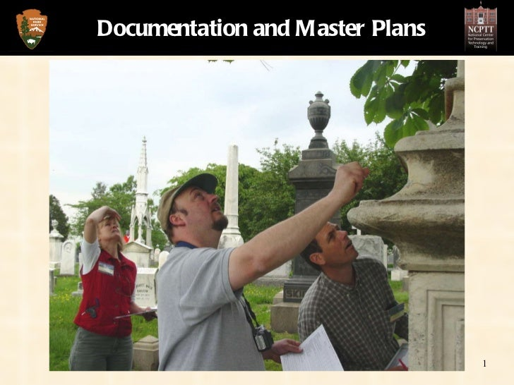 Documentation and Master Plans