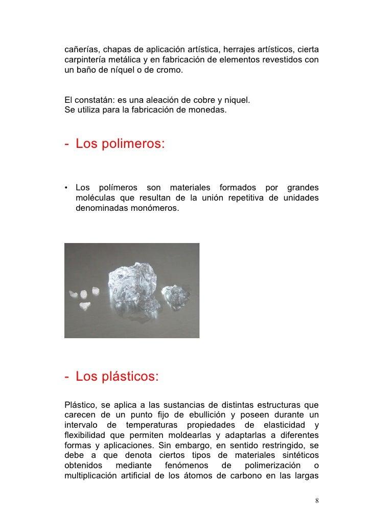 Esquema los materiales - Materiales de carpinteria ...