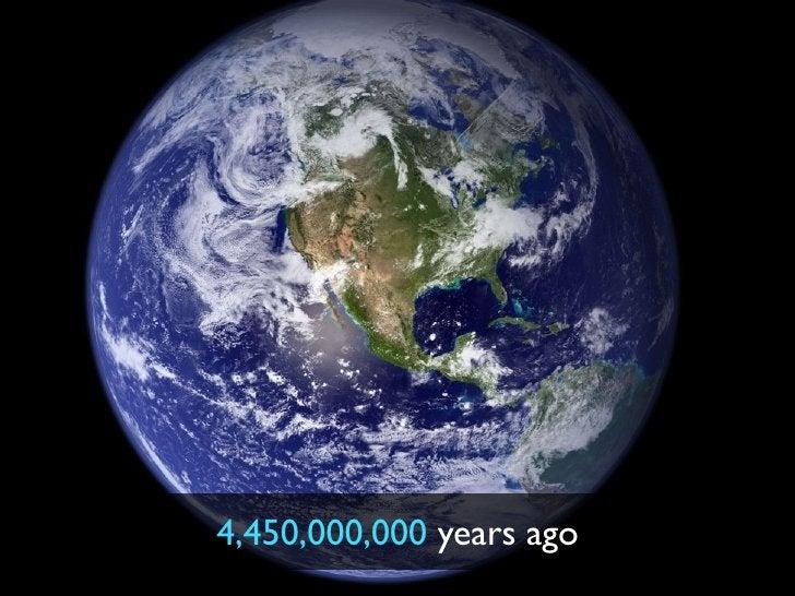 4,450,000,000 years ago