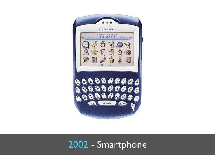 2002 - Smartphone