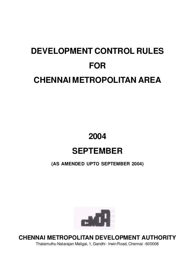 CMDA Rules for Chennai Real Estate Professionals