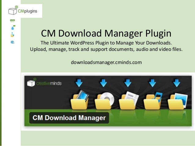 How To Create A File Sharing And Do Ent Repository For Your WordPress Site Using Cm Downloads