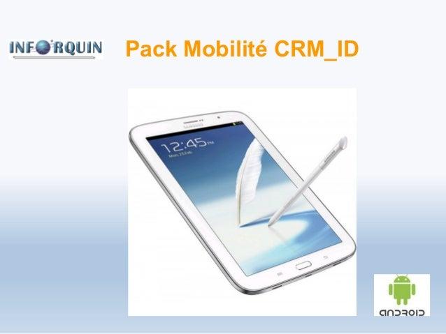 Pack Mobilité CRM_ID