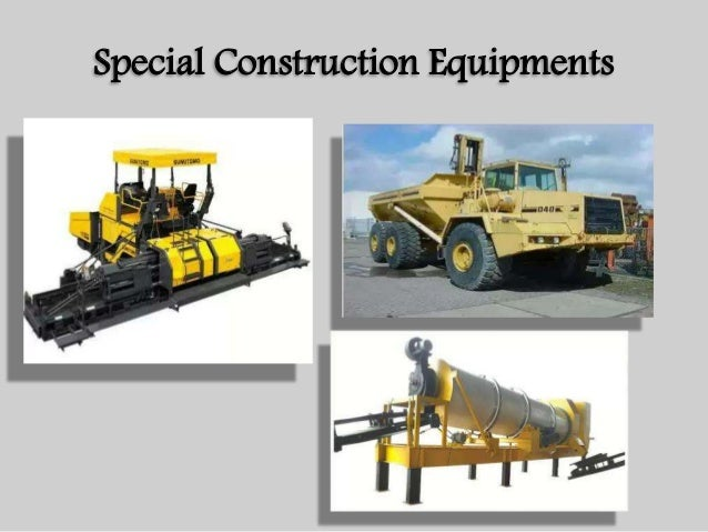 Construction Management & Equipments