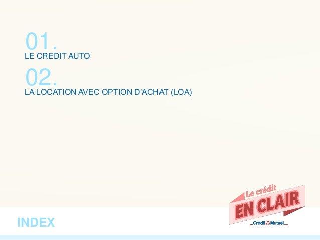 EN CLAIR - Crédit Auto ou LOA, que choisir ? Slide 2
