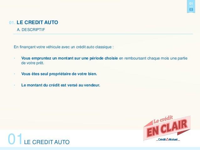 EN CLAIR - Crédit Auto ou LOA, que choisir ? Slide 3