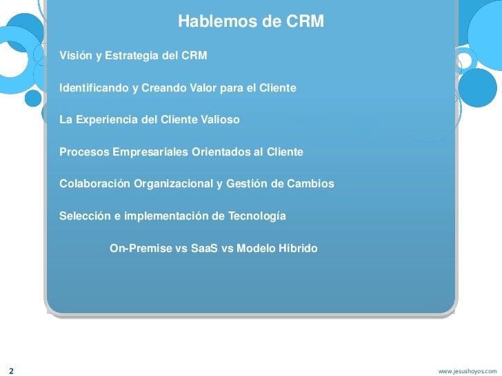 Colaboracion y Social CRM Slide 2