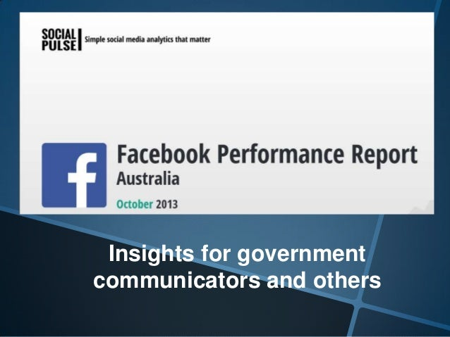 Insights for government communicators and others