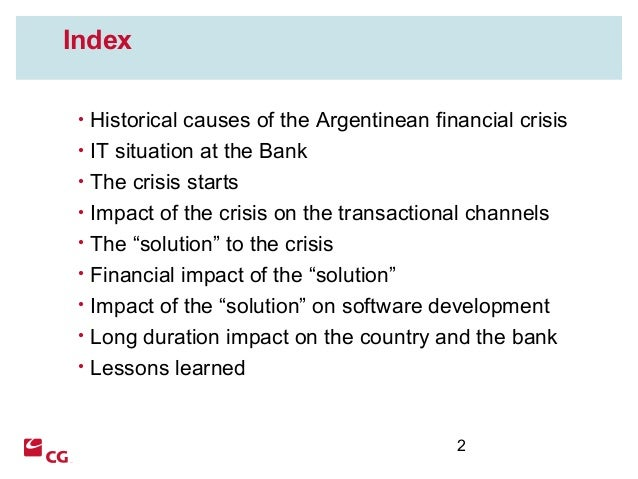 IT Performance Management in a financial crisis context Slide 2