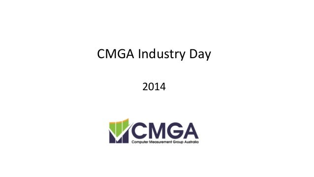 CMGA Industry Day 2014