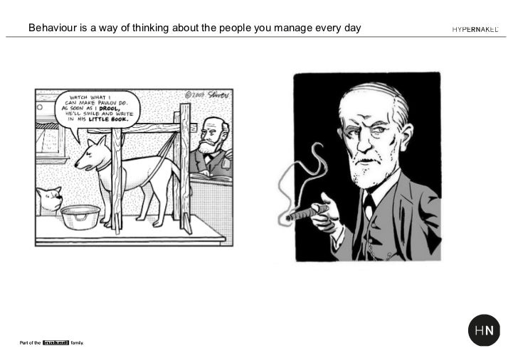 Behaviour is a way of thinking about the people you manage every day