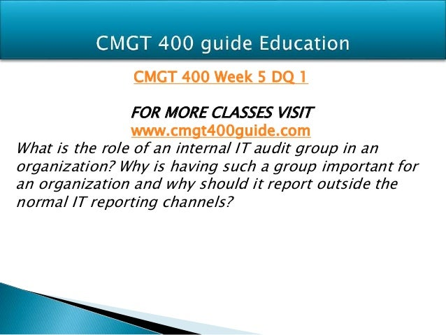 Cmgt 400 week 2 common information security threats
