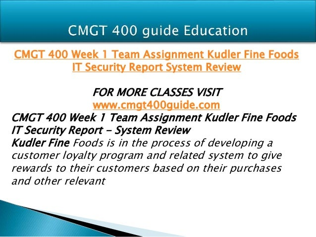 kudler fine foods detailed design process and design specifications Review the service request sr-kf-013 for kudler fine foods begin creating a detailed outline detailed design process and design specifications:.