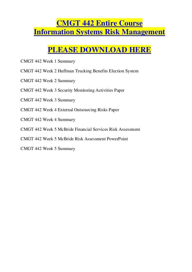 Cmgt442 r4 New Syllabus