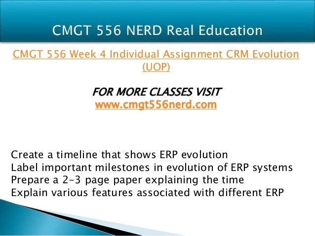 Cmgt556 week 1 individual assigment