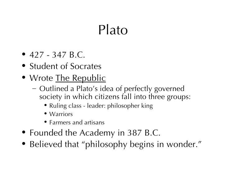 Plato's Idea of the Philosopher King