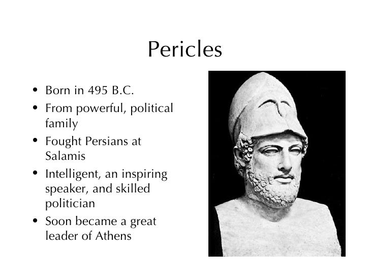 pericles the unofficial leader of athens essay
