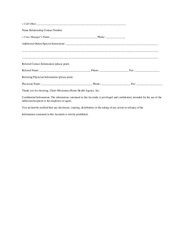 Cmhha Referral Form