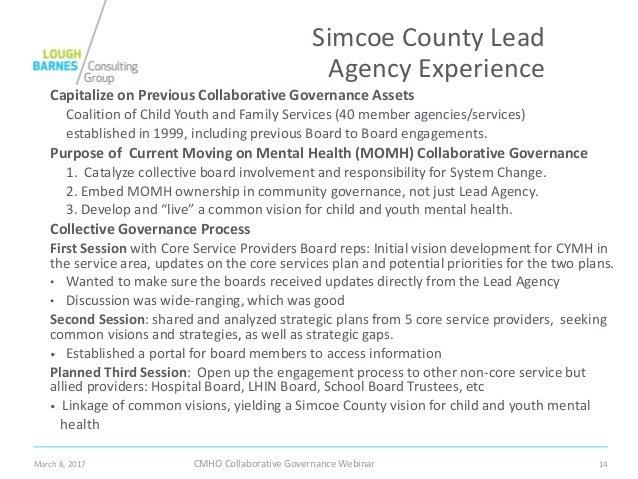 Teaching Collaborative Governance ~ Collaborative governance webinar