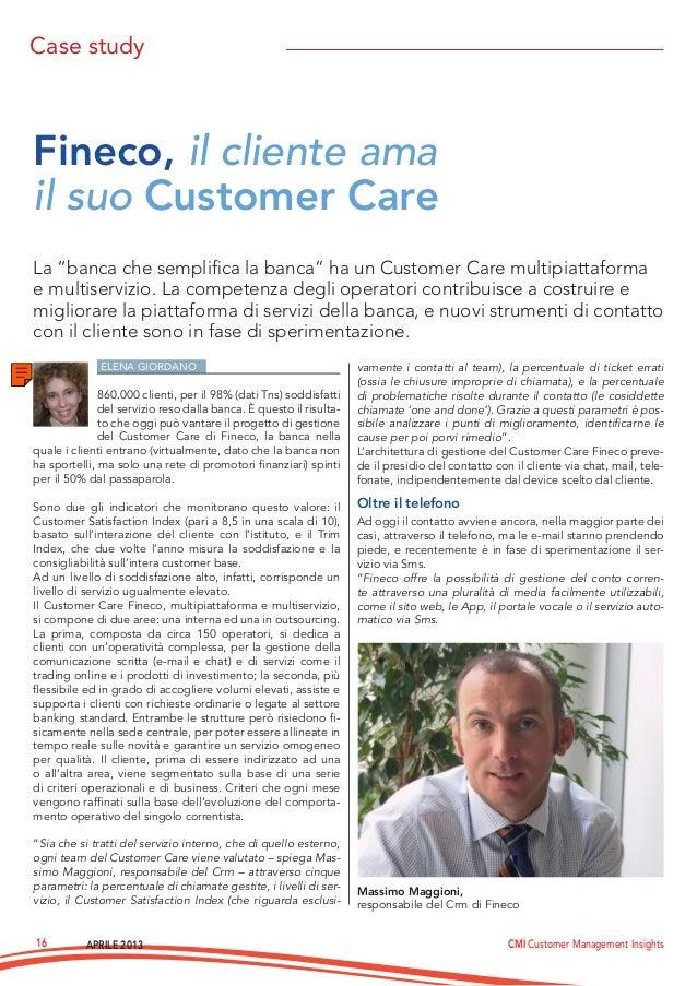 Customer Care Fineco