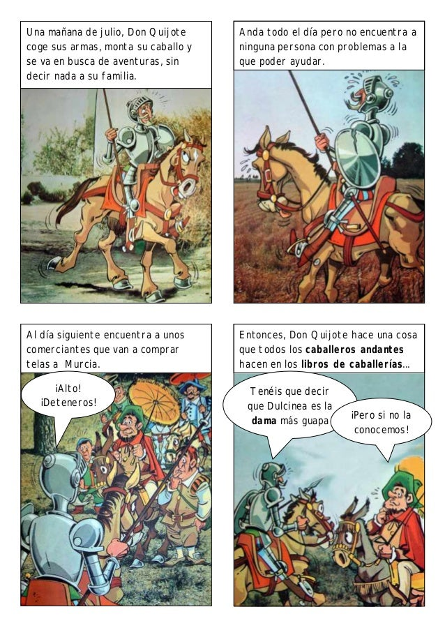Cómic - DON QUIJOTE