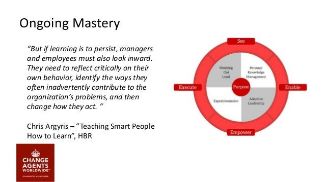 Creating Ongoing Mastery of Change