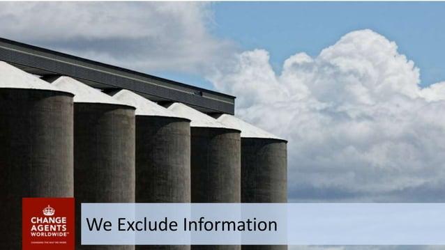 We Exclude Information