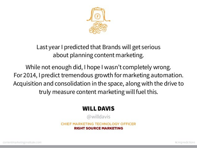Last year I predicted that Brands will get serious about planning content marketing. While not enough did, I hope I wasn't...