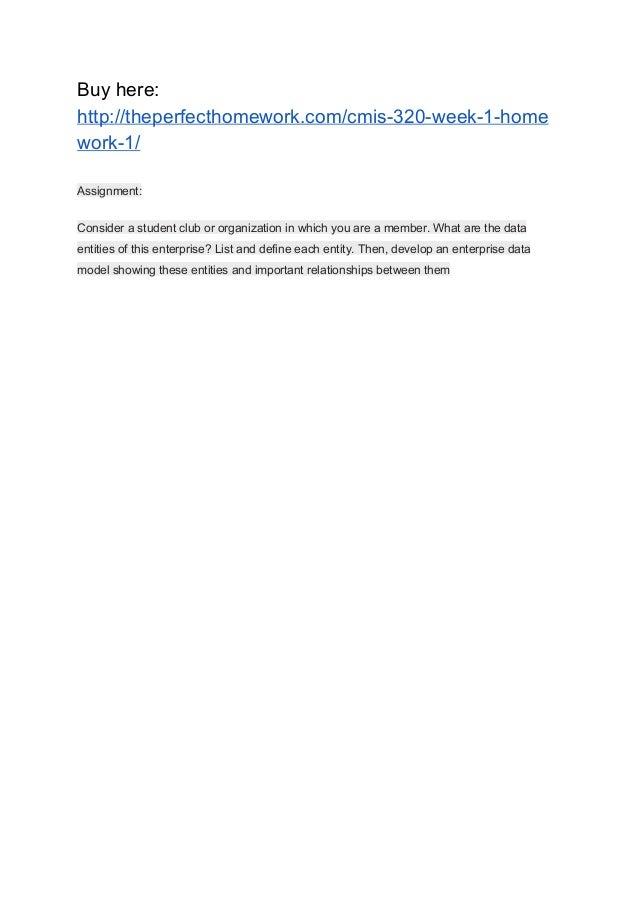 cmis 320 homework 1