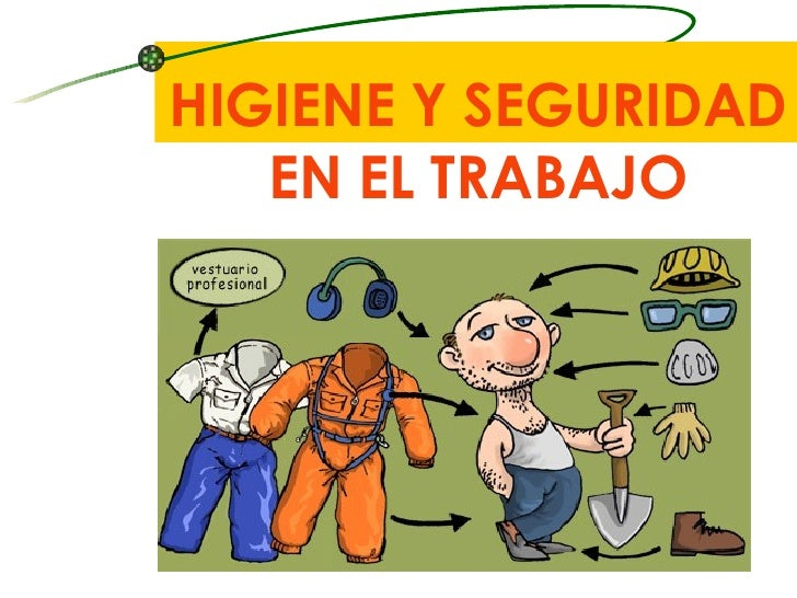 Dibujos De Seguridad En El Trabajo Higiene Y