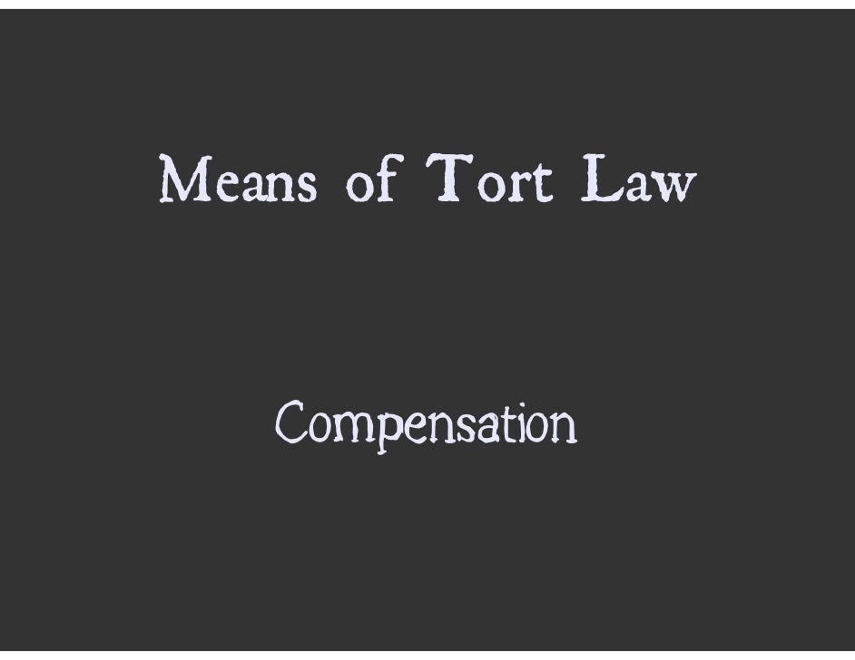 tort law case studies Tort law defined and explained with examples the set of laws that provides remedies to people who have suffered harm by the unreasonable acts of another.