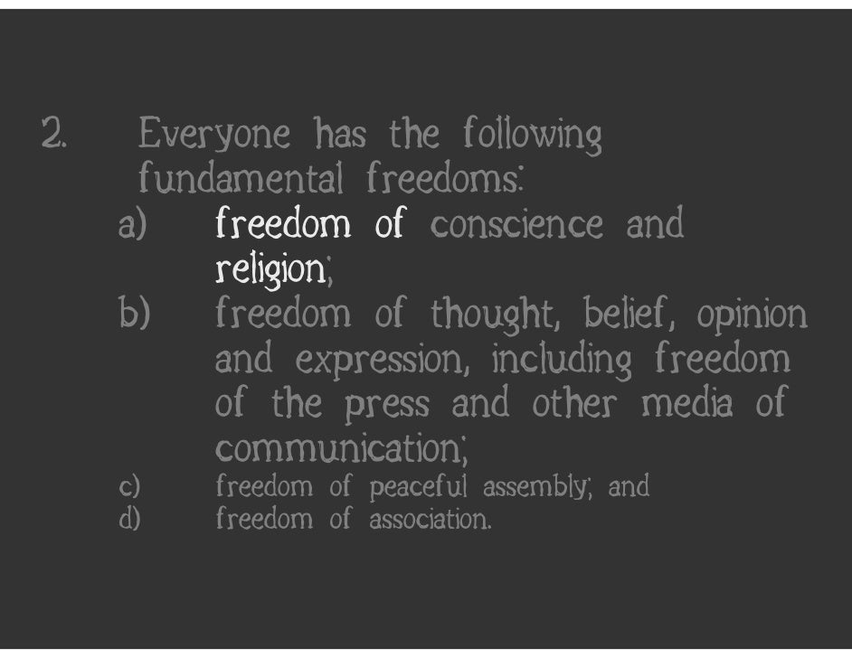 """an introduction to the expression of freedom Introduction freedom of speech  in deciding cases involving artistic freedom of expression the supreme court leans on a principle called """"content neutrality."""