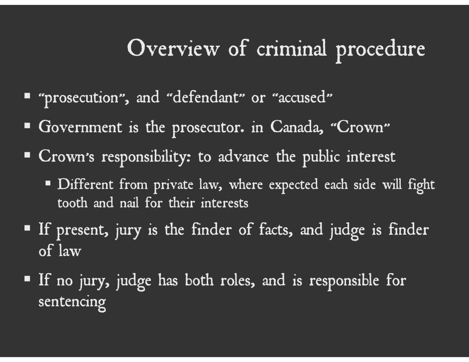 an introduction to the role of the prosecutor Role of the judge and other courtroom participants the judge  that lawyer is the us attorney or an assistant us attorney on relatively rare occasions .