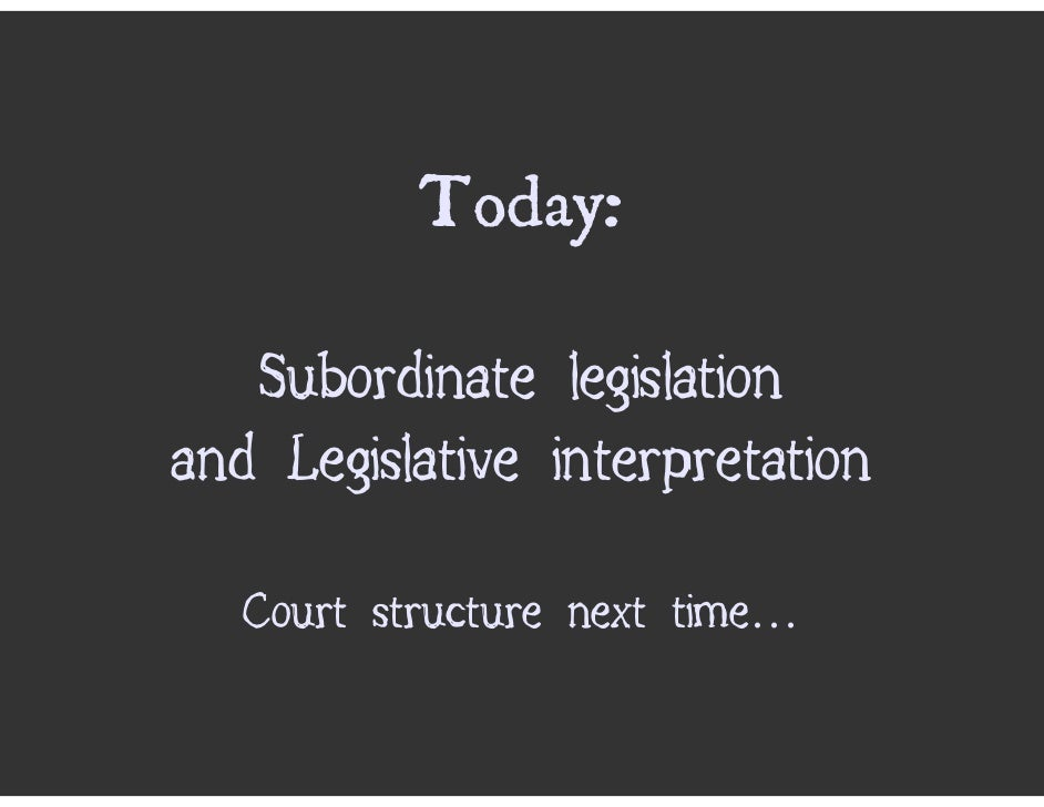 CML2117 Introduction To Law 2008, Lecture 9