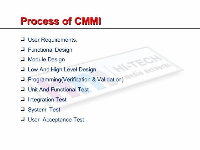 A Simple Introduction To CMMI For Beginer