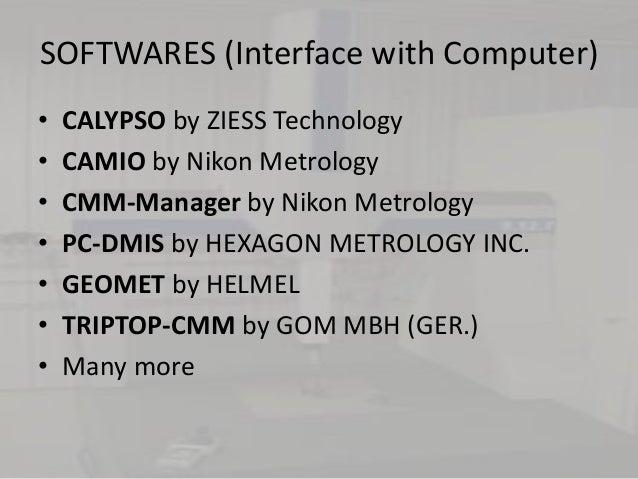 Cmm softwares Slide 3