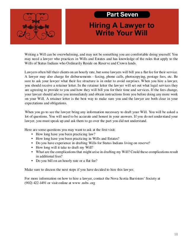 Cmm wills estates book one final final final other estate planning tools part six 23 18 writing a will can solutioingenieria Images